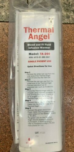 Thermal Angel Blood & IV Fluid Infusion Warmer Model TA-200 NSN 6515-01-500-3521