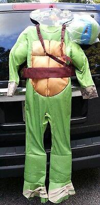 M 8 - 10 Teenage Mutant Ninja Turtles Deluxe Leonardo Costume Spirit halloween