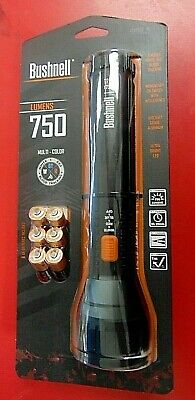 Bushnell 750 Lumens Multi-Color Flashlight #20341 New Sealed *EXCELLENT*