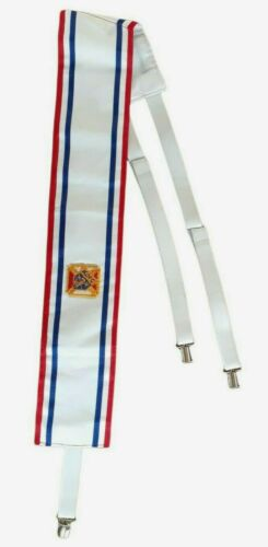 Knights Of Columbus Ceremonial Sash With Patch K Of C