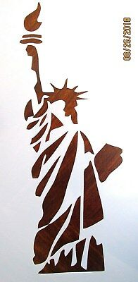 Statue Of Liberty Stencil/Template Reusable 10 mil Mylar (Statue Of Liberty Stencil)