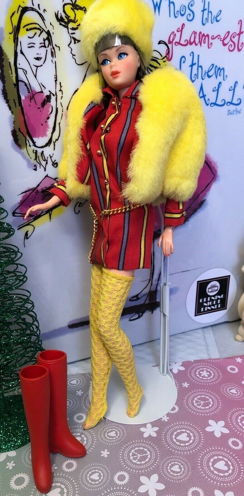 Barbie Vintage Repro SMASHEROO-MOD FASHION- OUTFIT Complete NO DOLL -NEW - $33.01