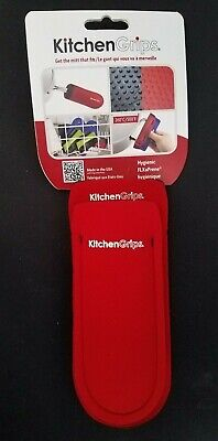 KitchenGrips Red Hygenic Pot & Pan Holders NEW