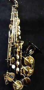 Soprano Saxophone Curved Black lacquer