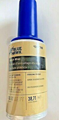 Blue Hawk Stretch Wrap 5 X 1000 Ft 0167749  416.67 Square Feet Freebies