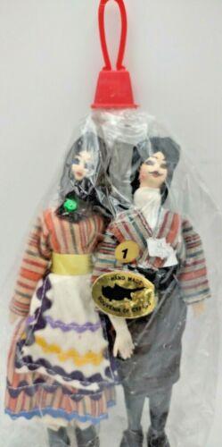 47.  Vintage Collector Dolls. Hand Made, Souvenir Of Cyrpus