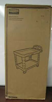 New Sealed Rubbermaid Heavy-duty Utility Cart Fg450088 Beig 48fl