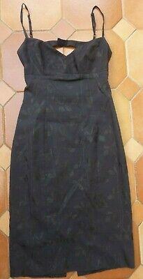 KAREN MILLEN - Little Black Dress - £199 - UK 10 - Low Back - REDUCED