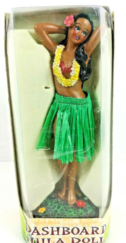 "Dashboard Hula Doll Sweet Leilani 7"" Bobble Doll (NIB)"