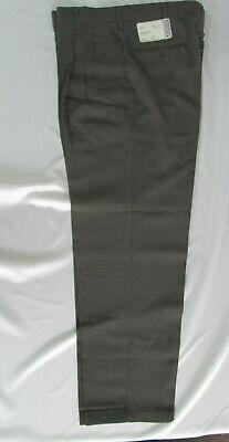 Mens pants Pleated Brown black Dress 32 X 30 34 x 32  40 x 32 NEW RETRO USA