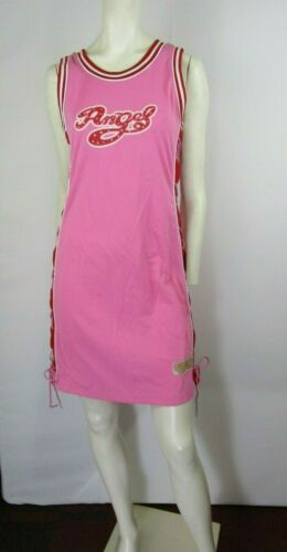 Victorious Urban Couture Angel #3 Pink Jersey Dress Size M