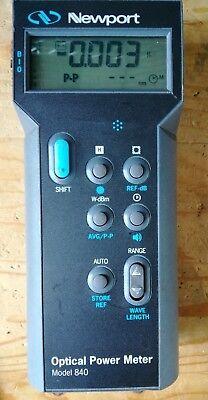 Newport Model No.840-c Optical Power Meter