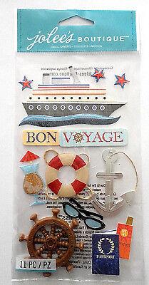 Bon Voyage Scrapbook Stickers (Bon Voyage Stickers)