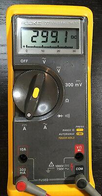 Fluke 77 Ii Multimeter Read Description Test Leads Original Box Manual