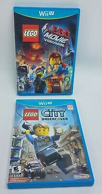 LEGO City Undercover & The LEGO Movie Video Game (Nintendo Wii U) Complete