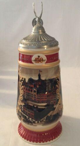Anheuser-Busch 150th Anniversary Stein CS 514 No COA No Box
