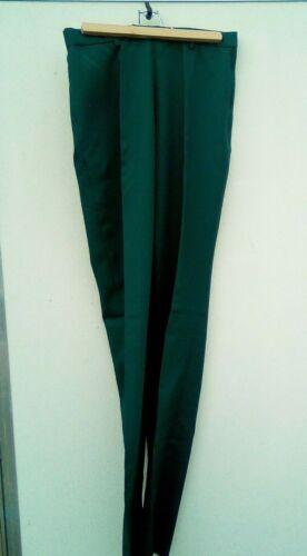 """Green Hobby Horse Western showmanship/show pants 34"""" waist, #550-03 USA"""