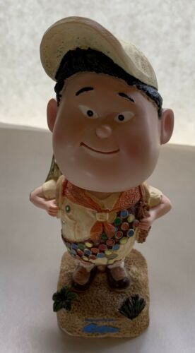 RARE Disney Pixar Up Movie Elements Russell Explorer Bobblehead by Canada Bread