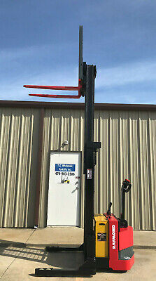 2008 Raymond Rss40 Walk Behind Forklift Straddle - Very Nice 28 3750lb