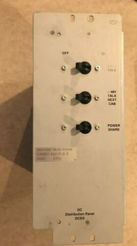 SIEMENS S30807-E6219-X-5 DC DISTRIBUTION PANEL USED