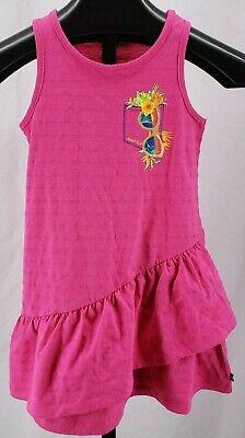 NWT NAUTICA Tank Dress Pink Ruffles Sunglasses Gold Hawaiian Girl's Sz 6X  $39
