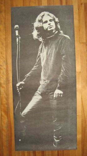 """Vintage NOS 1968 Jim Morrison Poster Photograph by Jon Maslow 35 3/4"""" x 15 1/2"""""""