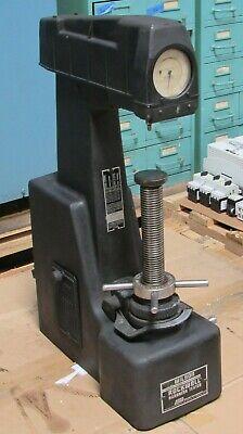 Acco Wilson Rockwell Hardness Tester Model 4 Jr 0 4jr0
