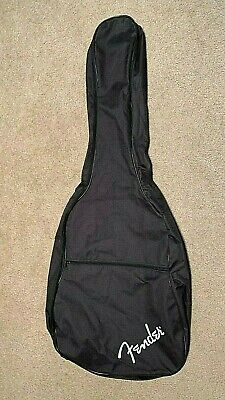 FENDER Guitar Gig Bag BLACK Back Pack Style Approx 42 x 16 x 4.5 inch NEW!