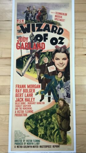THE WIZARD OF OZ Insert (MGM R-1949) Judy Garland