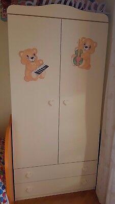 Armadio per Camera bambino cameretta Arredamento mobili
