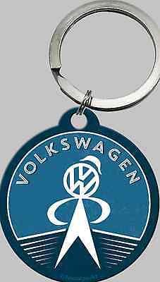 Nostalgic Art VW Service Manikin Volkswagen Lizens Schlüsselanhänger rund 4cm