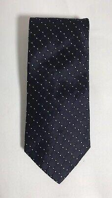 Dot Silk Tie - TOMMY HILFIGER 100% Silk Tie Dark Polka Dot Necktie