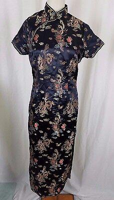 Asiatische Kleidung (Vintage Asiatisch Chinesisch Cheongsam Damen Kleid Traditionell Qipao Kleidung)