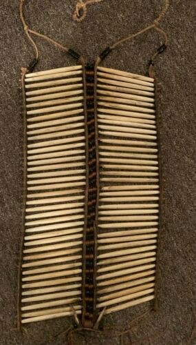 SIOUX HAIR PIPE BREASTPLATE