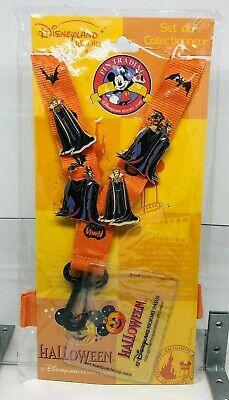 04 Halloween Starter Kit Maleficent & Evil Queen 4 Pin Set (Halloween-starter)