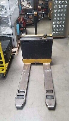 Yale Pallet Jack MPB040A 4000LB Capacity Electric Pallet Jack W/Internal Charger for sale  Burbank