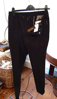 Michael Kors Slim Taper Trackpants Black NEW UK/EUR 32/32 Slim Fit RRP...