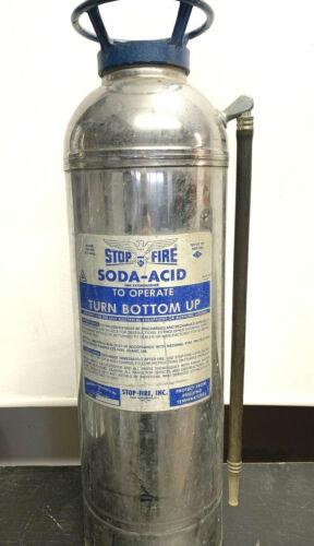 1970s Stop-Fire Soda Acid 2.5 Gallon Fire Extinguisher ~ Model SSA-50