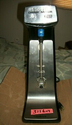 Waring Commercial Drink Mixer 2 Speed Dmc20 31dm43 Milk Shakemalt Blender