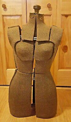 Vintage Steampunk Cloth Board Metal Adjustable Dress Form Mannequin