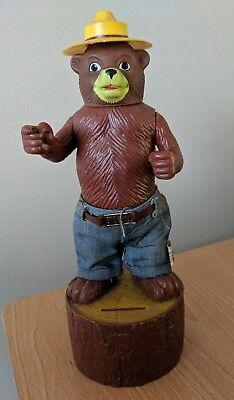 Vintage Dakin Smokey The Bear Bank - Bear Bank