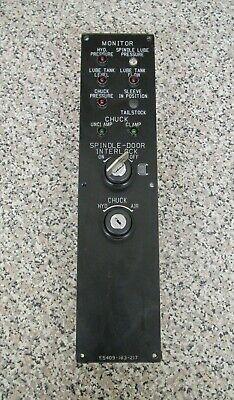 Okuma Lr15 E5409-183-217 Cnc Spindle Chuck Monitor Operator Key Switch Panel