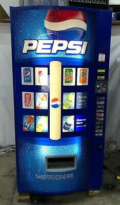 Vendo 630 Soda Vending Machine 10selection 5 Can 5 Bottle
