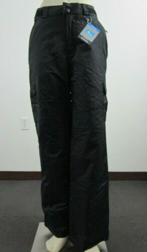 NWT Mens Columbia Snowtop Cargo Insulated Waterproof Snow Ski Pants - Black