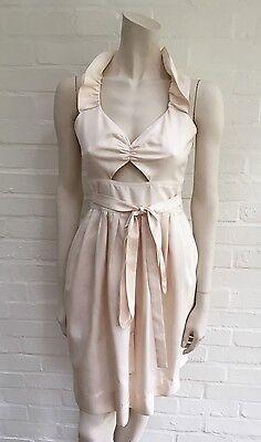 JILL STUART Silk Cutout  Dress Size US 0 UK 4 XXS Most Beautiful Dress Ever