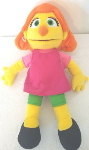 Julia Plush Doll Sesame Street By Gund Autistic Character New Without Tag