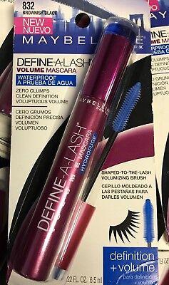 - WOW! $9.99 ~ Maybelline Define-A-Lash Volume Mascara W/P ~ Brownish Black - 832