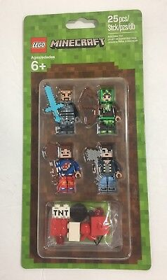 Lego Minecraft Minifigures People Pack 1 853609  25 pieces