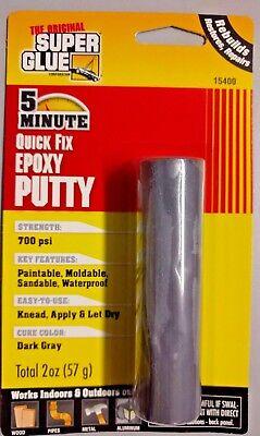 The Original Super Glue 5 Min Quick Fix Epoxy Putty Pack Of 3