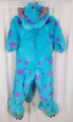 Disney Parks Monsters Ag University Sulley Sully Plüsch Kostüm Jungen Kind 4T-6T